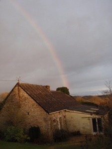 Only our goats at the end of this rainbow.... unfortunately!